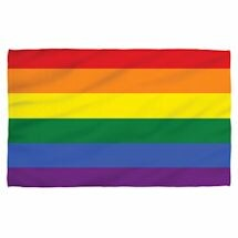 Pride Stripe Beach Towel