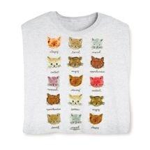 Cat Moods Shirts