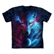 Wolf Light & Dark Tee