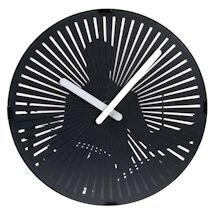 Kinetic Zoetrope Drummer Clock