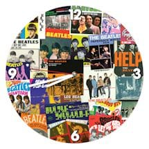 The Beatles Collage Clock