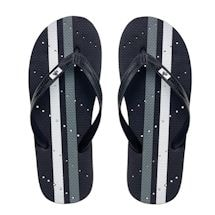 Athletic Stripe Men's Shower Flip Flops