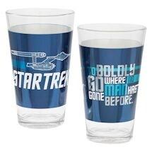 Star Trek Enterprise Pint Set