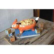 Foxy Fox Ceramic Bowl