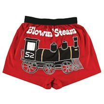 Comical Boxers- Blowing Steam