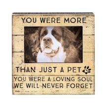 More Than A Pet Memorial Frame