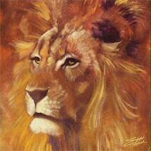 Lion 18X18