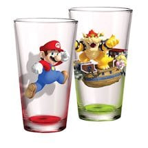 Super Mario Brothers Pint Glass Set