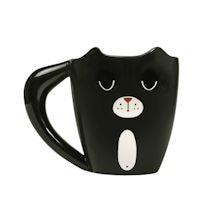 Heat Activated Ginger/ Black Cat Mug