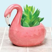 Animal Planters - Flamingo