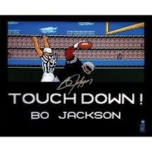 Bo Jackson Signed Los Angeles Raiders 'Tecmo Bowl TD' 16x20 Photo