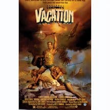 Chevy Chase Signed 11x17 Vacation Movie Poster