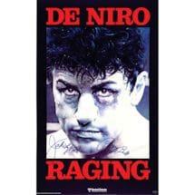 """Jake LaMotta Signed 24x36 Movie Poster w/ """"Raging Bull"""" insc"""