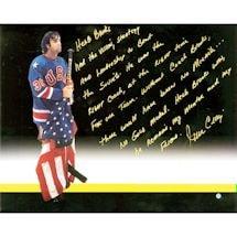 Jim Craig Signed 'Herb Brooks Story' 16x20 Photo