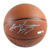 Kobe Bryant Signed I/O NBA Orange Basketball (Signed in Silver) (Panini & SSM)
