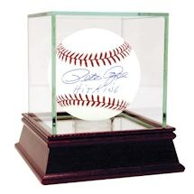 "Pete Rose MLB Baseball w/ ""Hit King"" Insc."