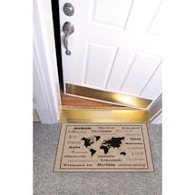 """High Cotton Front Door Welcome Mats - International Language for """"Welcome"""""""