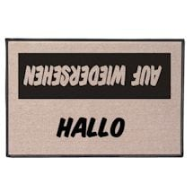 International Hello/Goodbye Doormats - German