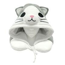 Cat Hooded Neck Pillow