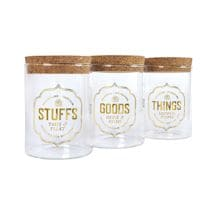 Stash Jar Set