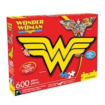 Wonder Woman 2-Sided Logo Puzzle