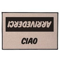 International Hello/Goodbye Doormats - Italian