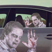Ride With A Zombie Car Decal