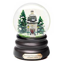 Silent Night Musical Snowglobe