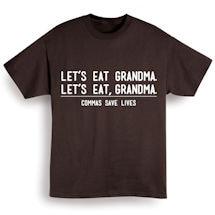 Commas Save Lives Shirt