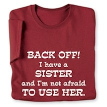 Back Off T-Shirt