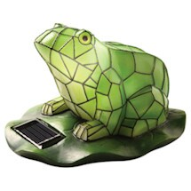 Solar Garden Frog