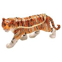 Serengeti Hinged Tiger Box