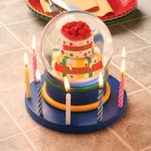 Musical Birthday Cake Waterglobe