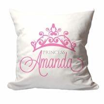 Personalized Princess Crown Pillow