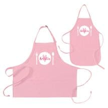 Personalized Place Setting Mommy and Me Apron Set
