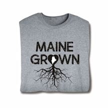 """Homegrown"" T-Shirt - Choose Your State - Maine"
