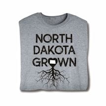 """Homegrown"" T-Shirt - Choose Your State - North Dakota"