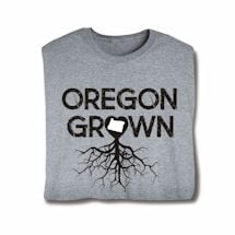 """Homegrown"" T-Shirt - Choose Your State - Oregon"