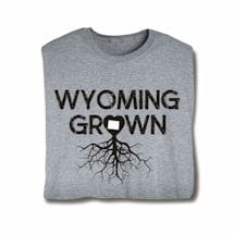 """Homegrown"" T-Shirt - Choose Your State - Wyoming"