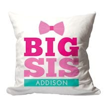 Personalized Big Sis Pillow