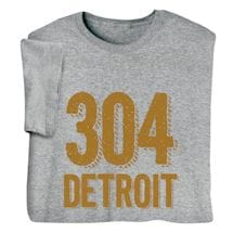 Personalized Area Code & City Tee