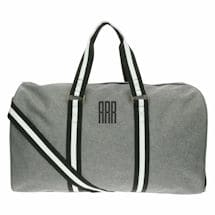 Monogrammed Men's Canvas Duffel Bag