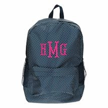 Monogrammed Children's Backpack