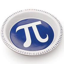 The Pi Dish Pie Plate