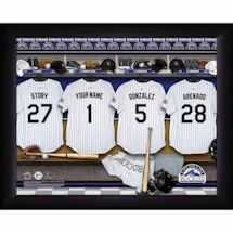 Personalized MVP Locker Room Photos-Major League Baseball