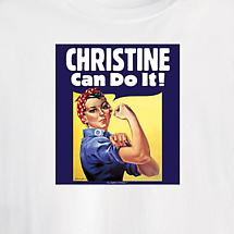Personalized Rosie The Riveter Short-Sleeve Shirt