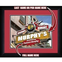 Personalized NHL Pub Print