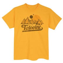 Star Wars Tourism T-Shirts- Tatooine