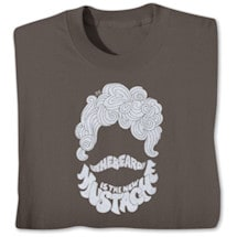 The Beard Is The New Stache Tshirt