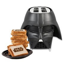 Darth Vader™ Toaster - Helmet-Shaped Star Wars™ Appliance Imprints Toast - Three Settings
